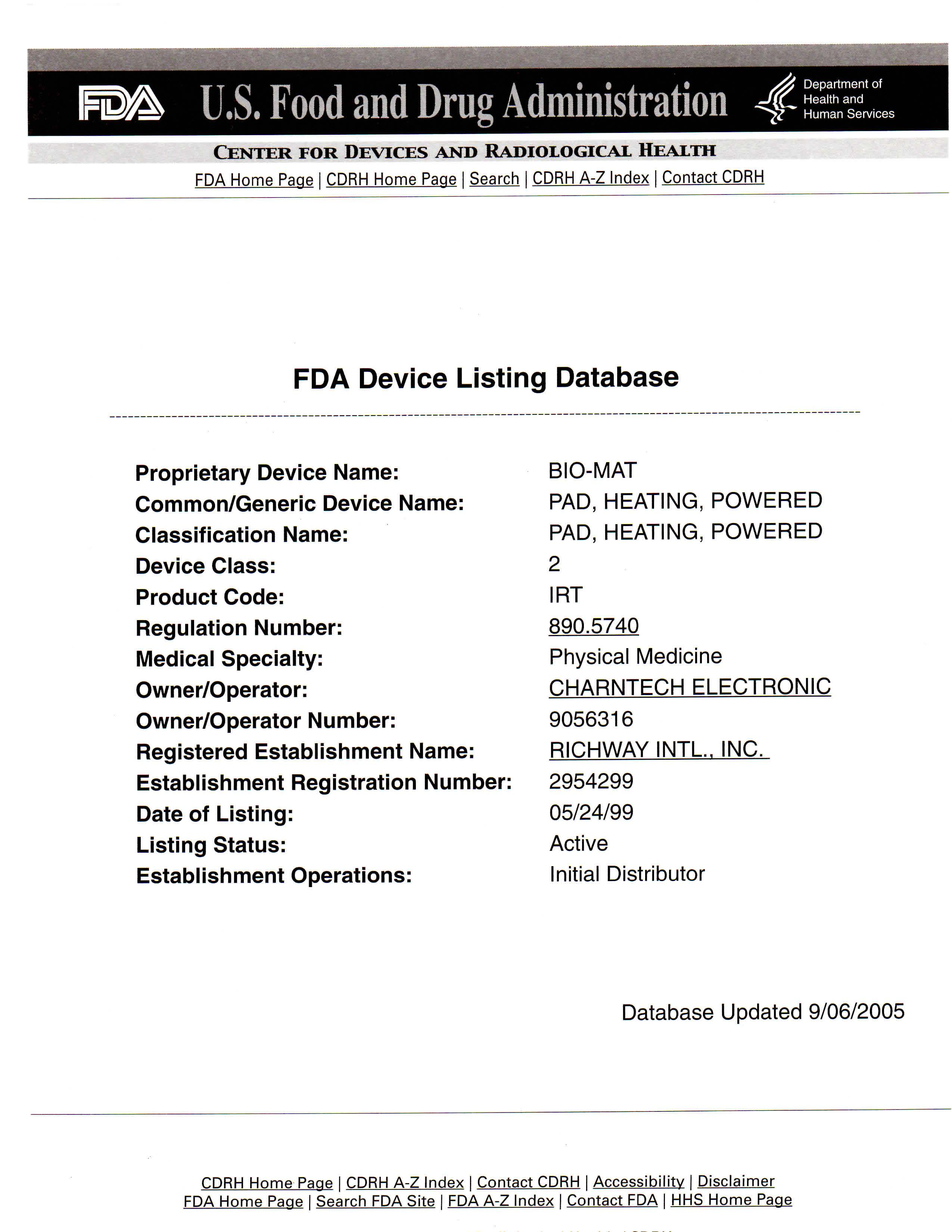 Company your biomat resource guide us food and drug administration fda certificate of registration pdf xflitez Image collections